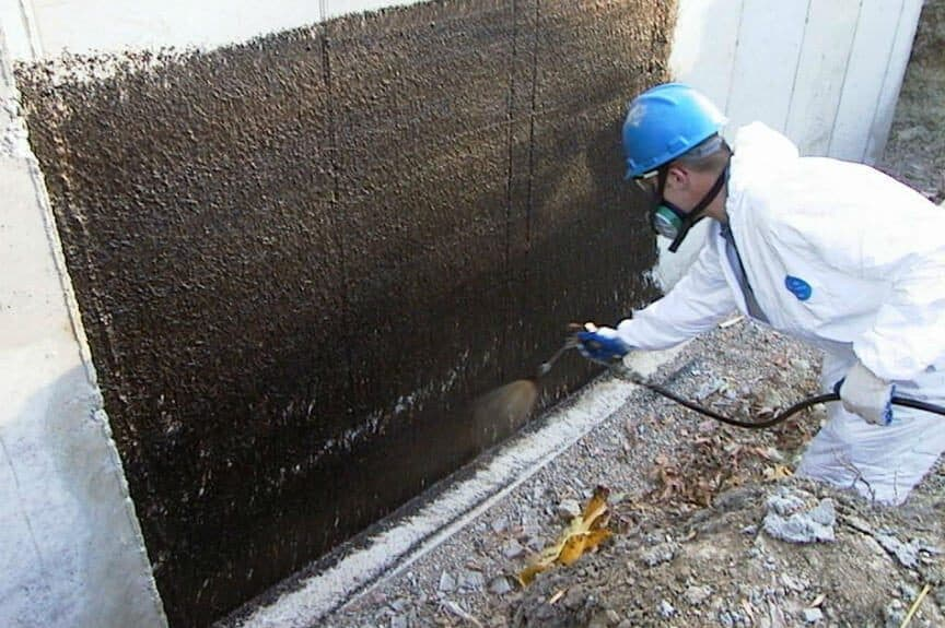 What is the difference between dampproofing and waterproofing - Sealing exterior cinder block walls ...