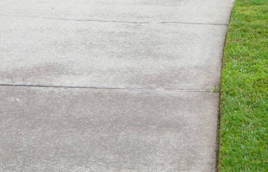Discolored Concrete
