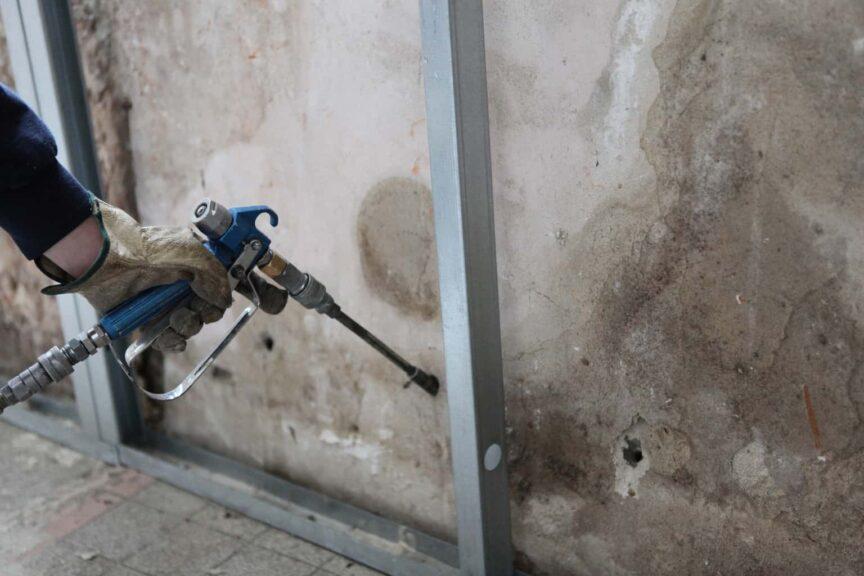 Expanding Foam in Walls