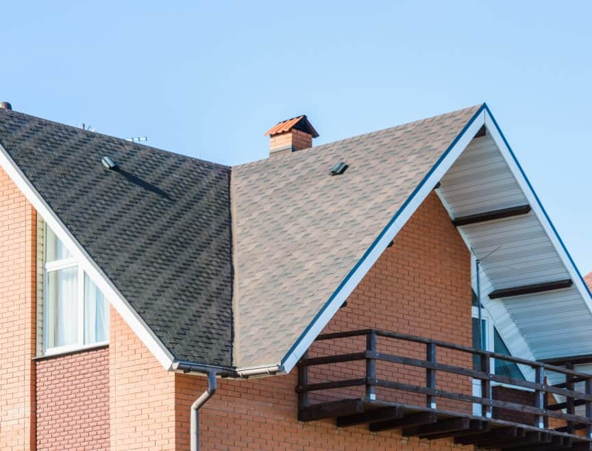 Roof Color for Brick House