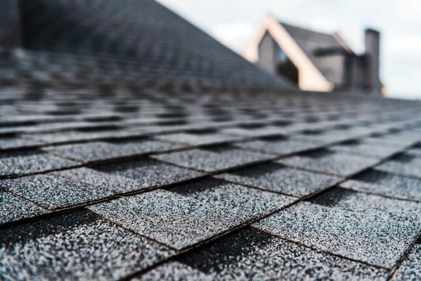 Dark Roof Shingles