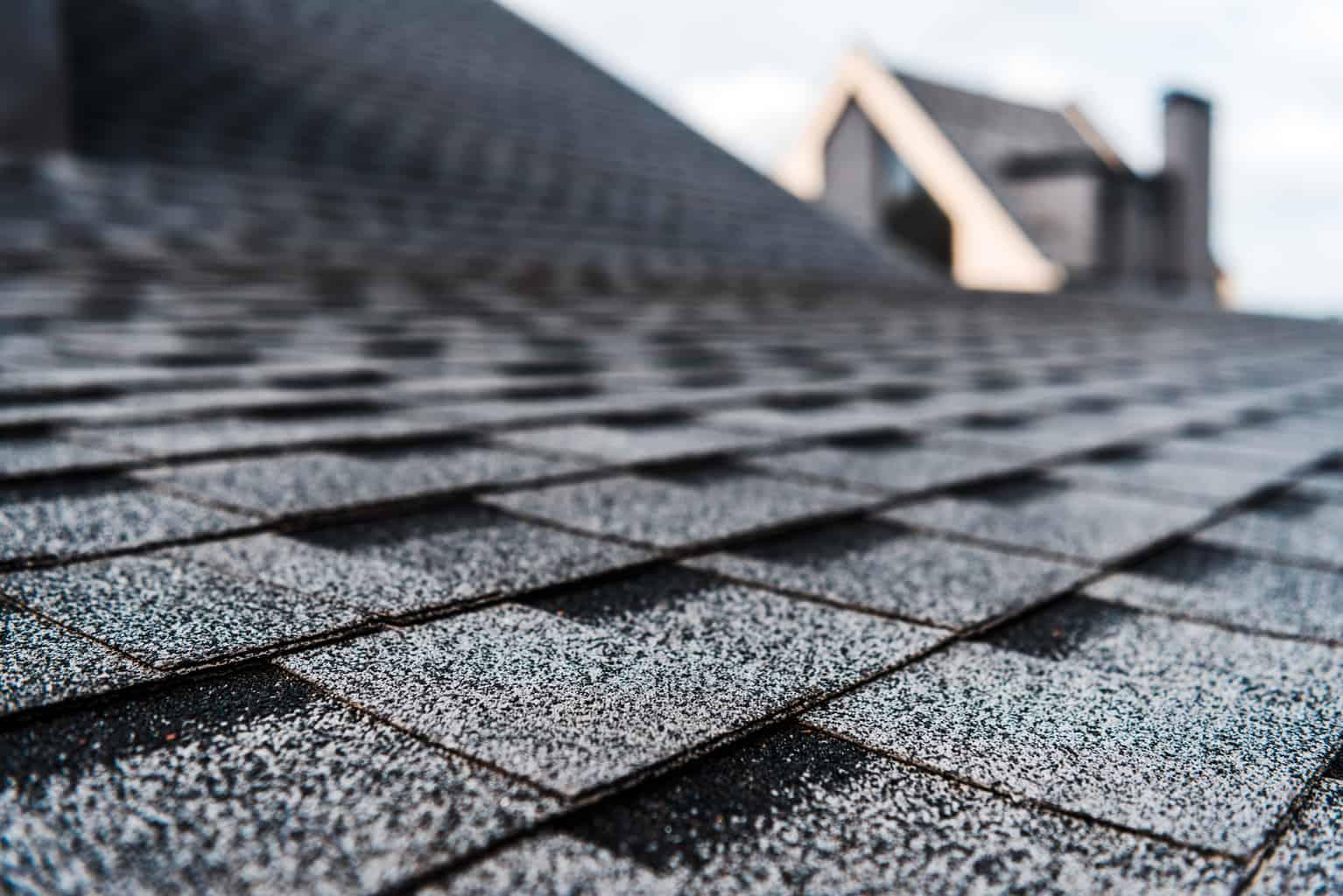 Dark Roof Shingles