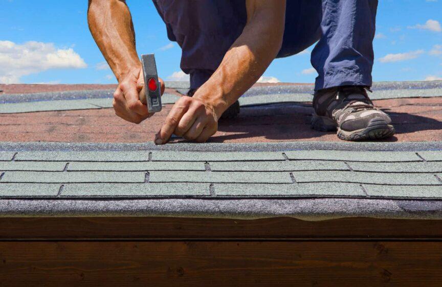 Overhang Roof Shingles