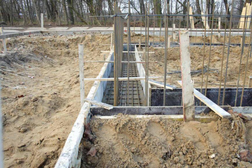 Foundation Footing Formwork