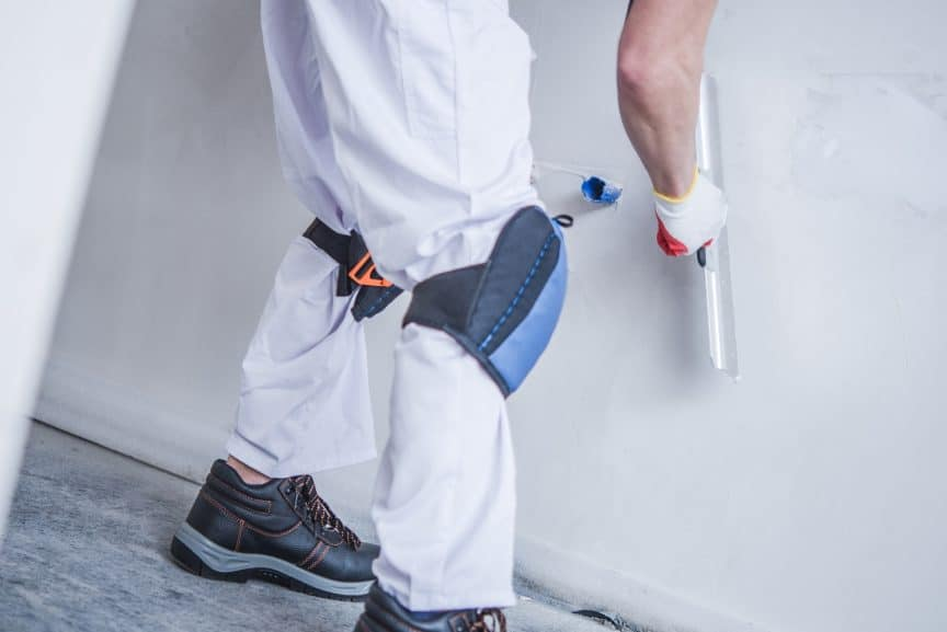 Applying Drywall Mud