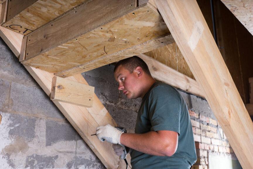 Basement Stair Construction